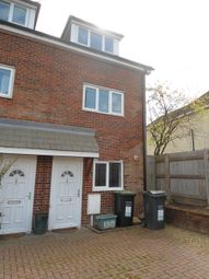Thumbnail 3 bed town house to rent in Birling Road, Snodland