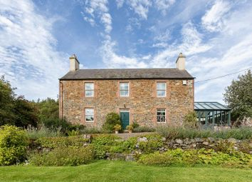 Thumbnail 5 bed country house for sale in Lindean Farmhouse, Lindean, Selkirk