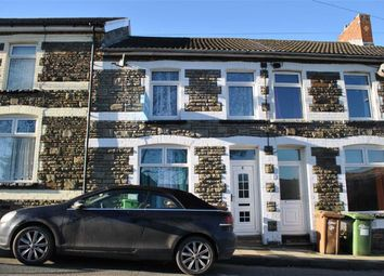 Thumbnail 3 bed terraced house for sale in Usk Road, Bargoed