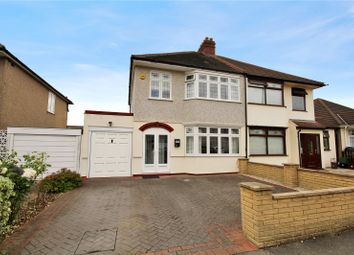 Thumbnail 3 bed semi-detached house for sale in Sandringham Drive, Welling, Kent