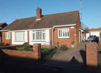 Thumbnail 2 bedroom semi-detached bungalow to rent in Woolsery Avenue, Exeter, Devon