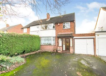 Thumbnail 3 bed semi-detached house for sale in Highters Heath Lane, Nr Hollywood, Birmingham