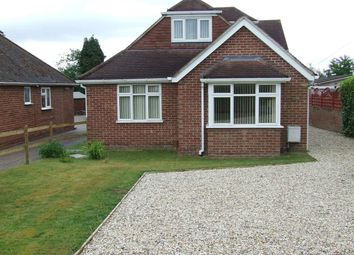 Thumbnail 4 bed detached bungalow to rent in Elmhurst Road, Henwick, Thatcham