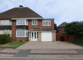 Thumbnail 4 bedroom semi-detached house for sale in Meadow Road, Wythall, Birmingham