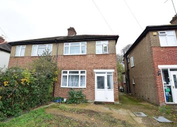 Thumbnail 3 bed semi-detached house to rent in Islip Manor Road, Northolt, Middlesex