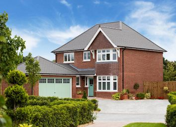 "Thumbnail 4 bed detached house for sale in ""Canterbury+"" at Cot Hill, Llanwern, Newport"