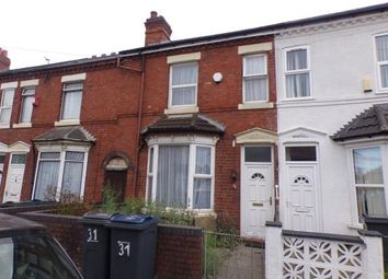 Thumbnail 3 bed terraced house for sale in Wyrley Road, Aston, Birmingham, West Midlands