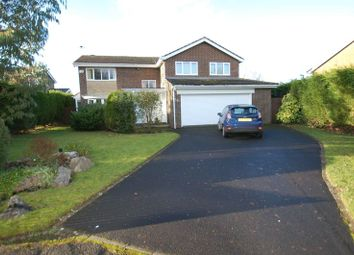 Thumbnail 4 bed detached house to rent in Meadowvale, Ponteland, Newcastle Upon Tyne
