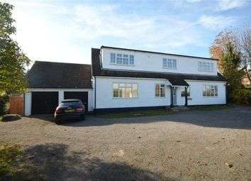 Thumbnail 4 bed detached house for sale in Strethall Road, Littlebury, Saffron Walden, Essex