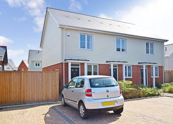 Thumbnail 2 bedroom end terrace house to rent in Manley Boulevard, Snodland