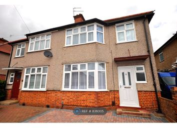 Thumbnail 4 bed semi-detached house to rent in Dellfield Crescent, Uxbridge