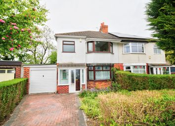Thumbnail 3 bed semi-detached house for sale in Crossefield Road, Cheadle Hulme, Cheadle