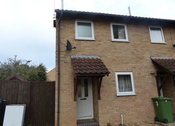 Thumbnail 2 bed end terrace house to rent in Hexham Court, Peterborough