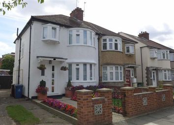 Thumbnail 3 bed semi-detached house for sale in Kenmore Avenue, Harrow, Middlesex
