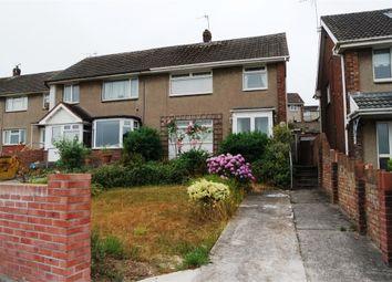 Thumbnail 3 bed terraced house for sale in Ffordd Yr Eglwys, North Cornelly, Bridgend, Mid Glamorgan