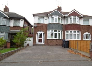 Thumbnail 3 bed semi-detached house to rent in Rocky Lane, Birmingham