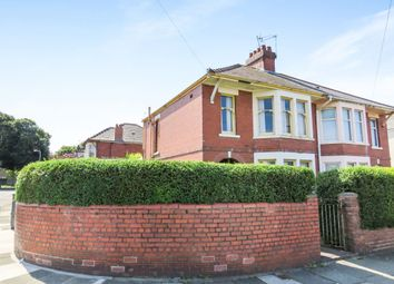 Thumbnail 3 bedroom semi-detached house for sale in Avondale Crescent, Grangetown, Cardiff