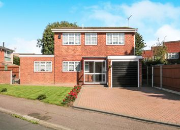 Thumbnail 4 bedroom detached house for sale in Clyfton Close, Broxbourne