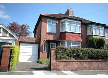 Thumbnail 3 bedroom semi-detached house to rent in Grosvenor Road, Jesmond, Newcastle Upon Tyne