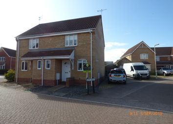 Thumbnail 2 bed semi-detached house to rent in Anchor Way, Carlton Colville, Lowestoft