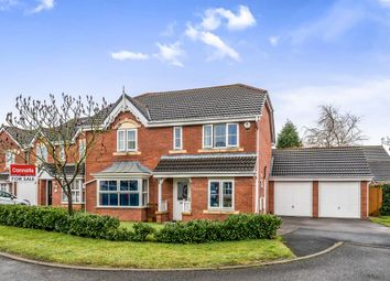 Thumbnail 4 bed detached house for sale in Turf Close, Norton Canes, Cannock