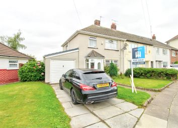 Thumbnail 3 bed end terrace house for sale in Thackeray Gardens, Litherland