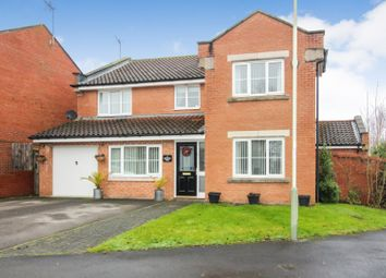 Thumbnail 5 bed detached house for sale in Hawthorn Drive, Newton Aycliffe