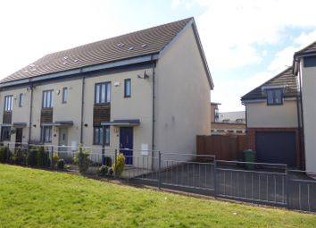 Thumbnail 3 bed end terrace house for sale in Four Chimneys Crescent, Hampton Vale, Peterborough