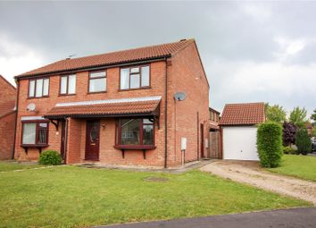 Thumbnail 3 bed semi-detached house for sale in Thurlow Court, Lincoln, Lincolnshire