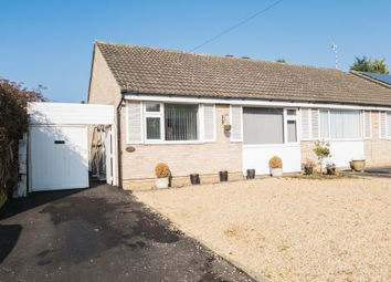 Thumbnail 2 bedroom semi-detached bungalow for sale in Severn Road, Oadby, Leicester