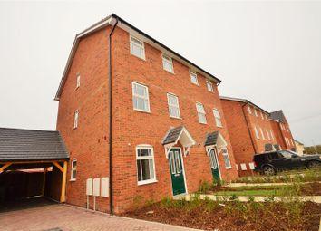 Thumbnail 3 bedroom town house to rent in Mercer Avenue, Castle Hill, Ebbsfleet Valley, Swanscombe