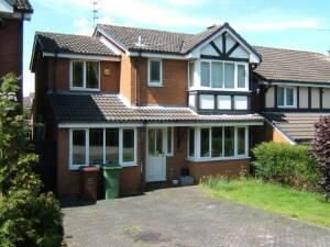 Thumbnail 4 bedroom detached house to rent in St Andrews Close, Cannock