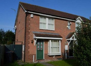 Thumbnail 2 bed end terrace house to rent in Meltham Close, Beau Manor, Northampton