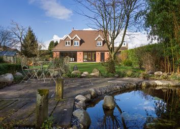 Thumbnail 3 bed detached house for sale in Moss Lane, Baldwins Gate, Newcastle-Under-Lyme