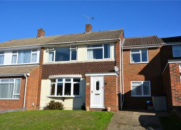Thumbnail 4 bed semi-detached house for sale in Cantley Crescent, Wokingham, Berkshire