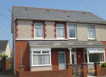 Thumbnail 3 bedroom semi-detached house for sale in Bonllwyn, Ammanford, Carmarthenshire.