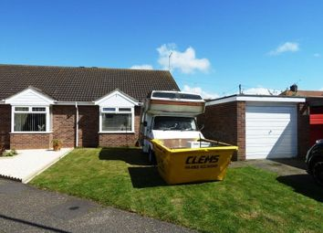 Thumbnail 2 bed semi-detached bungalow for sale in Anglian Way, Hopton, Great Yarmouth