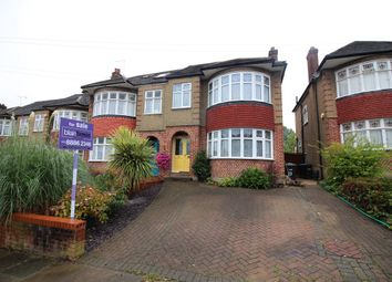 Thumbnail 3 bed semi-detached house for sale in Oakwood Avenue, Southgate
