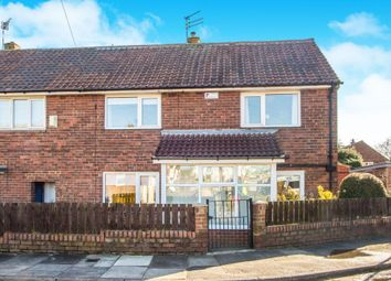 Thumbnail 3 bed semi-detached house for sale in Balmain Road, Newcastle Upon Tyne, Tyne And Wear