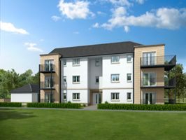 Thumbnail 1 bed flat for sale in Ostlers Way, Kirkcaldy, Fife