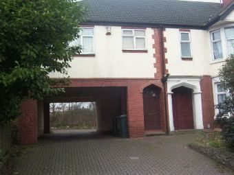 Thumbnail 1 bed maisonette to rent in Bedworth Road, Longford, Coventry