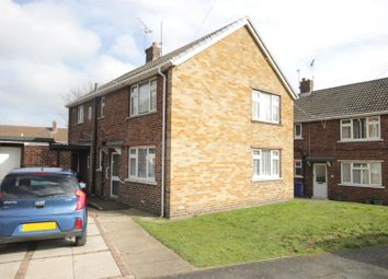 Thumbnail 2 bed flat for sale in Park Crescent, Warmsworth, Doncaster