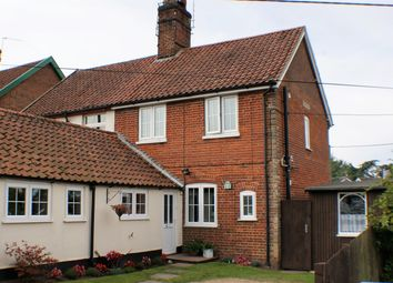 Thumbnail 2 bedroom semi-detached house for sale in St. Marys Terrace, Flixton Road, Bungay