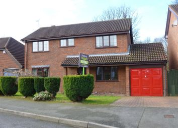 Thumbnail 4 bed detached house for sale in Ffordd Gwenllian, Llay, Wrexham