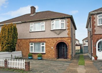 Thumbnail 3 bed semi-detached house for sale in Esk Way, Rise Park, Romford