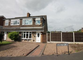 Thumbnail 3 bed semi-detached house for sale in Dunster Drive, Urmston, Manchester