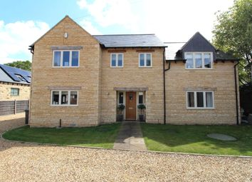 Thumbnail 4 bedroom detached house for sale in Station Road, Nassington, Peterborough