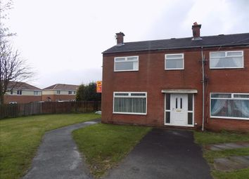 Thumbnail 3 bed terraced house to rent in Waverley Court, Bedlington