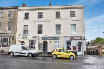 Thumbnail 2 bed flat to rent in Shaftesbury House, Weymouth Street, Warminster, Wiltshire