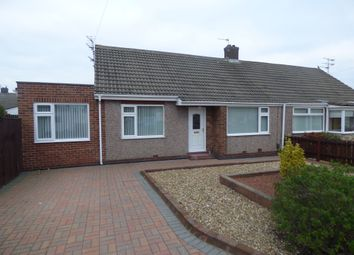 Thumbnail 2 bed bungalow for sale in Dilston Close, Shiremoor, Newcastle Upon Tyne